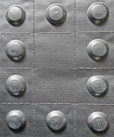 blister tabletek